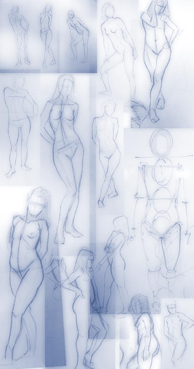 Dibujo-del-natural-2-modelo-bellas-artes-alumnos-cursos-aerografia-ilustracion-comic-academia-c10-madrid