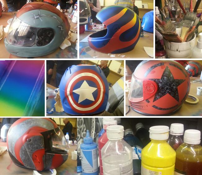 Trabajos- 3-alumnos-cursos-aerografia-decoracion-cascos-moto-carrocerias-aerografo-custom