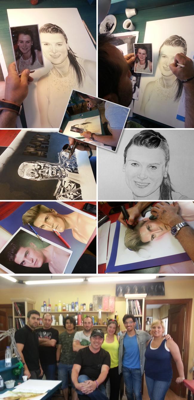 alumnos-carlos diez-trabajos-aerografia-aerografo-ilustracion-madrid-dibujo-clases