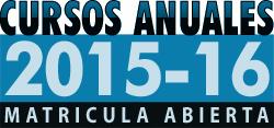 Cursos anuales 2015-16