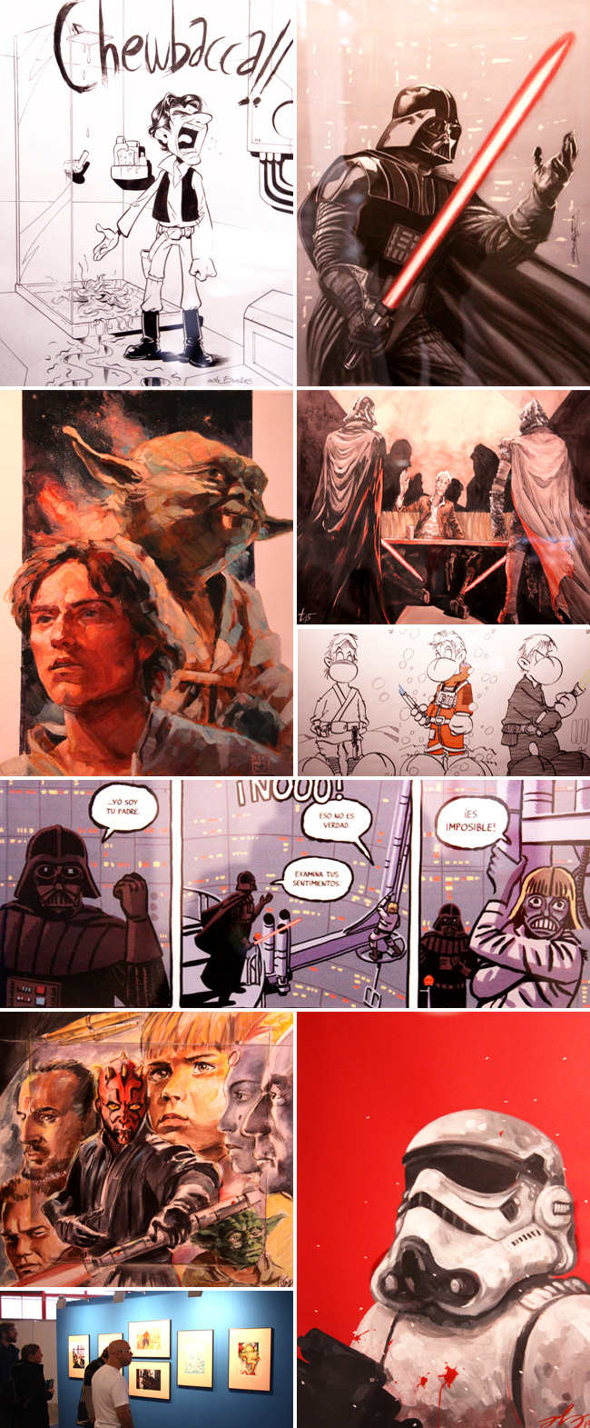 Exposicion_Star Wars_Expocomic_2015