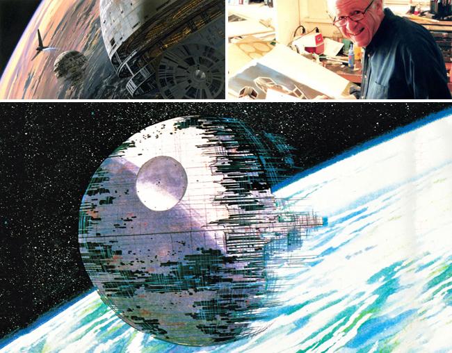 Star Wars_Estrella de la Muerte_Starkiller_Carlos Diez_Ralph Mcuarrie